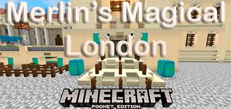 Карта Волшебный Лондон Мерлина