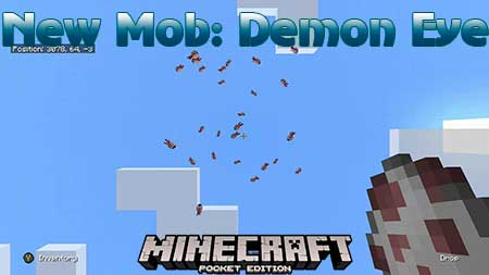 Мод New Mob: Demon Eye для Minecraft PE