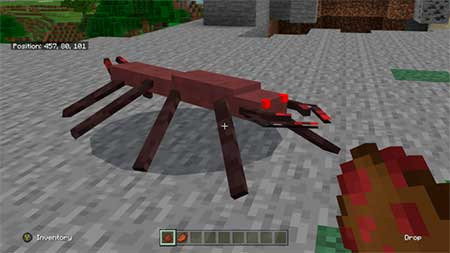 New Mob: Octapede mcpe 1