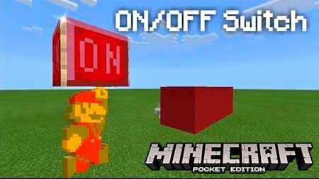 Карта ON/OFF Switch для Minecraft PE