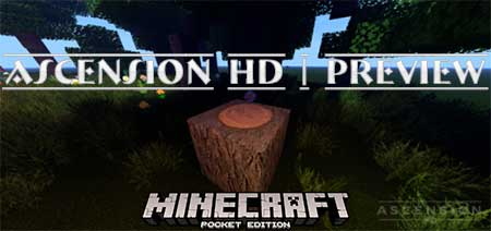 Текстуры ASCENSION HD | Preview для Minecraft PE