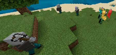 Fighting Armies mcpe 1