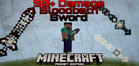 Мод Over Powered Nether Swords для Minecraft PE