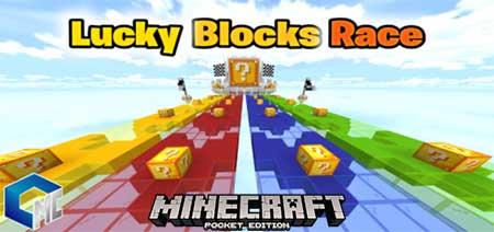 карта с лаки блоками играть