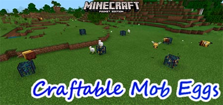 Craftable Mob Eggs [1.14-1.15]