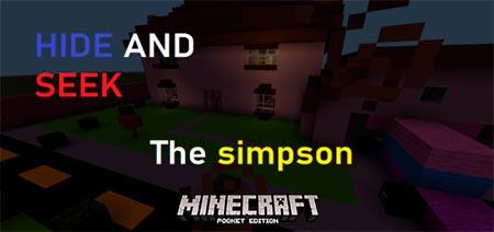 Симпсоны в майнкрафт карта играть игры онлайн руская рулетка
