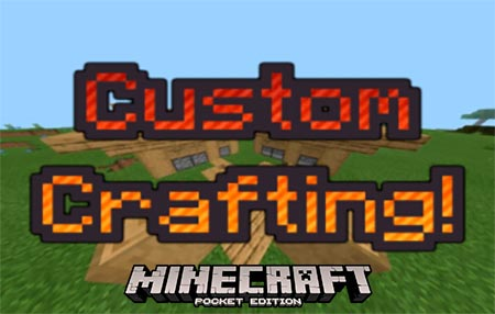 Карта Custom Crafting Recipes [1.14]
