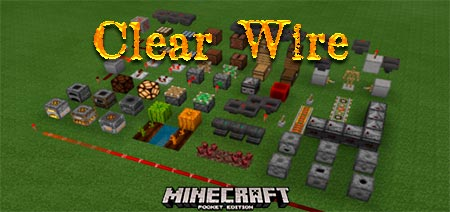 Текстур пак Clear Wire v3.0.0 [1.14-1.16]